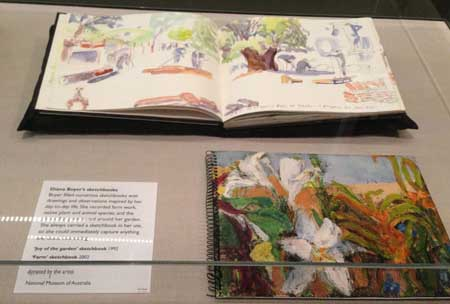Diana Boyers sketchbooks 2