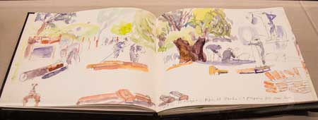 Diana Boyers sketchbooks