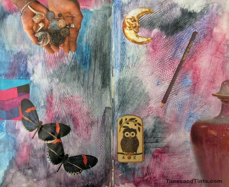 Journal Page Spread 12