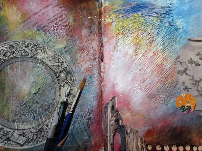 photo of Journal Page Spread 4