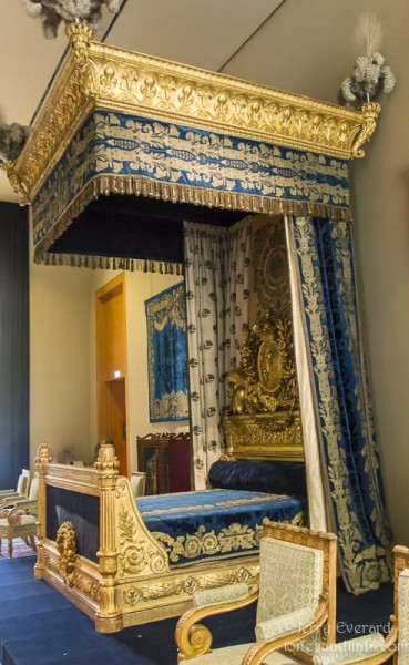 Napoleon's bedroom, Musee de Louvre, Paris