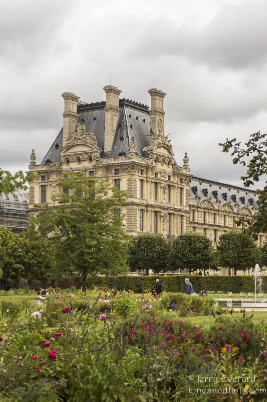 The Louvre, from the Tuileries