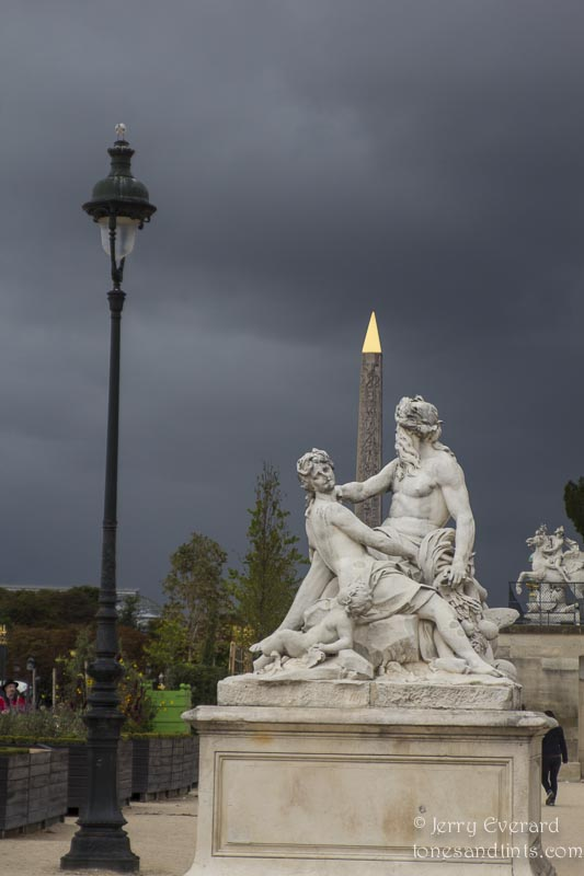 View from the Tuileries