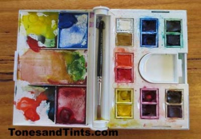 Water Colour Compact Set