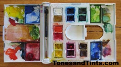Water Colour Compact Set 2