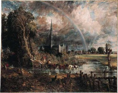 Salisbury Cathedral from the Meadows - John Constable