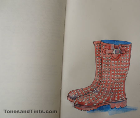 Eves new boots sketch