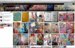 studio art journal group  screen shot