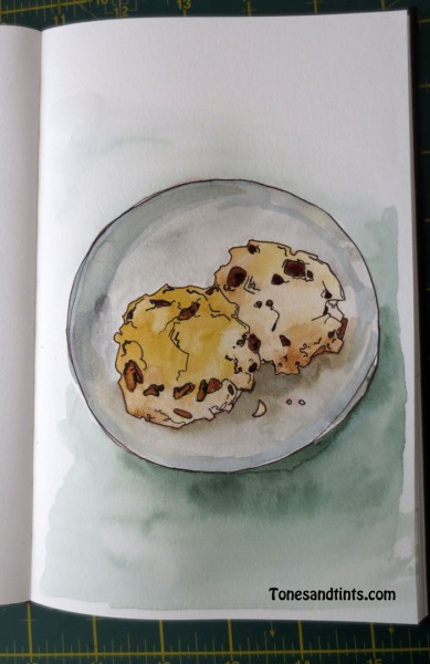 drawing of cookies