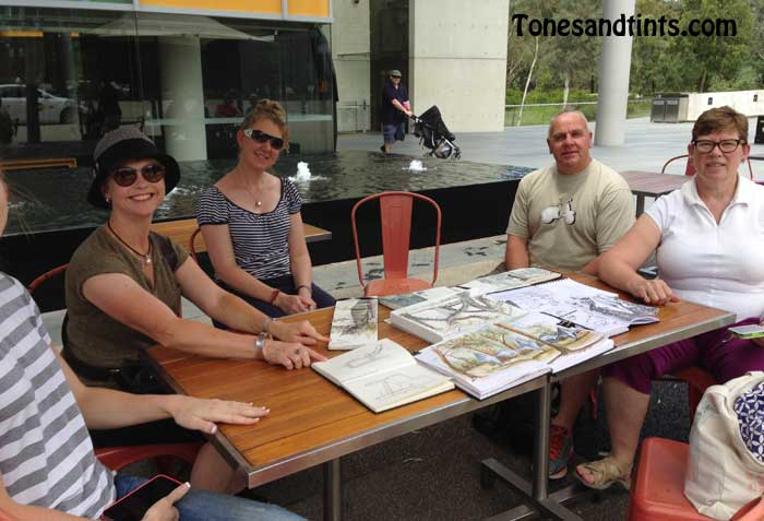 sketchbooks and meet up
