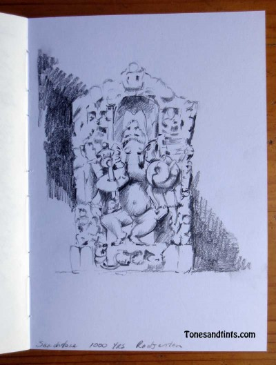 Sketch of Ganesha