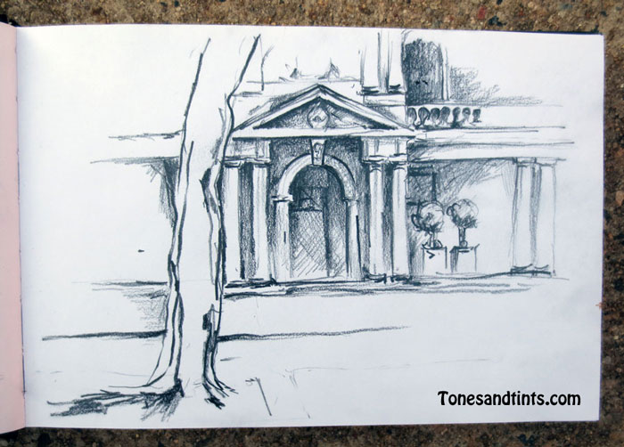 customs house from 2016 USK Sydney sketch meet up