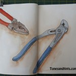 Drawing of tools